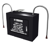 Box Type Capacitors for Fans - Black Box